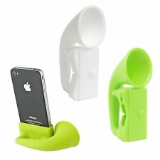 Smart Durable Soft Silicone Horn Stand Music Speaker Amplifier  for IPhone4/4S