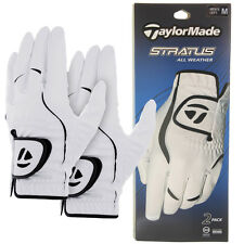 TaylorMade Mens Stratus All Weather Golf Glove Left Hand (2 Pack) MLH
