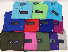 NWT POLO RALPH LAUREN SS PIMA SOFT TOUCH COTTON POLO SHIRT $98 MULTI-COLOR PONY