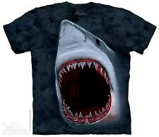 THE MOUNTAIN SHARK BITE GREAT WHITE SHARK SEA OCEAN ANIMAL T TEE SHIRT S-5XL