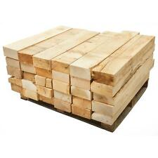 New Oak Garden Railway Sleepers Solid Timber Beams 20cm x 10cm