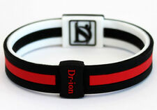 Dr-ion Two-Tone Design Reversible Negative Ion ENERGY Wristband Bracelet NEW