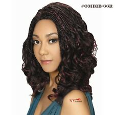 Zury Hollywood Sis Afro Braid Lace Front Wig - Swirl