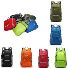 Easy placement  folding travel shoulder bag waterproof nylon backpack outdoor