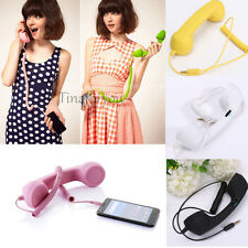 MIni Microphone Radiation Cell Phone Handset For Iphone Nokia Samsung Galaxy