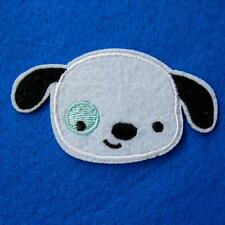 Dog Puppy Pet Iron on Sew Patch Cute Applique Badge Embroidered Animal Baby