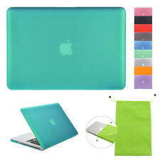 "FOR APPLE MACBOOK PRO 13"" 15"" INCH RUBBERIZED HARD MATTE PLASTIC CASE COVER"