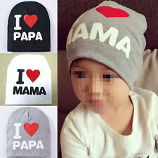Fashion Kids Baby Infant Love Boy Girl Cute Soft Warm Hat Cap Cotton Beanie