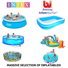 BESTWAY INTEX SWIMMING PADDLING POOL PLAY CENTRES SUMMER WATER GARDEN FUN BNIB