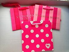 NEW! PINK/Victoria's Secret Gift Paper Bag/Shopping/Carrier Bag Size S/M