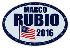 Oval Car/Refrigerator Magnet - Vote For Marco Rubio Republican President 2016