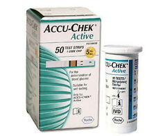 ACCU CHEK Active Test Strips Sheets Diabetic Blood Medical Check 50/100/200/300