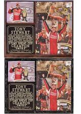 Tony Stewart #14 3-Time Sprint Cup Champion 2011 Photo Card Plaque Chevy Impala