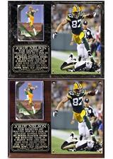 Jordy Nelson #87 Green Bay Packers Photo Card Plaque Super Bowl XLV Champion NFL