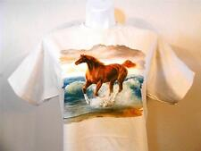Surfdancer Horse, Western, Cowgirl, Natural Color T-shirt S, M, L, XL