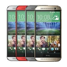 HTC One M8 6525 32GB Verizon -  GSM Unlocked -  Gray - Silver - Gold - Red