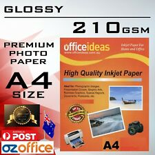 210GSM A4 High Glossy Photo Paper 210GSM for Canon Epson HP Inkjet Laser Printer
