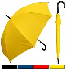 "New RainStoppers 48"" Doorman, Black Handle Umbrella - Free Priority Shipping"