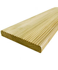 30 Value Decking Boards 19 x 118mm - Cheap Tanalised Garden Decking