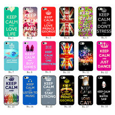 New Keep Calm Style To Love Life Stay Strong Hard Plastic Case For iPhone6 6Plus
