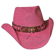NEW Bullhide Hats 2224P Sassy Cowgirl Collection Winston Pink Cowboy Hat