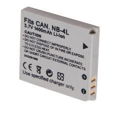 NB4L NB-4L Battery + Charger For Canon PowerShot ELPH 300 HS  SD1100 SD1400 IS