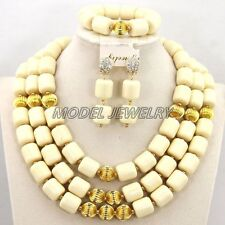 African Coral Jewelry Set African Beads Jewelry Set African Wedding Jewelry Set