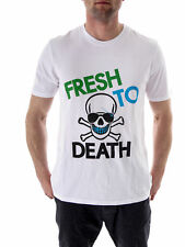 Local Celebrity T-Shirt Shirt Top white Fresh Crew neck short sleeve