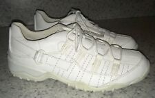 NEW Womens Sz 6 SPRING STEP Brogan White Leather Casual Walking Sneakers Shoes