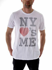 Local Celebrity T - Shirt Top NY Loves me white