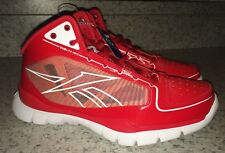 NEW Mens Sz 7 REEBOK SubLite ProRed White Lightweight Basketball Shoes Youth
