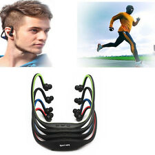 Stereo Sports Wireless Cuffie Auricolare Earphone Music Player Micro SD Ciclismo