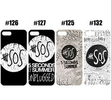 Hot 5 Second of Summer 5sos Quote Design Case Cover For iPhone Samsung Galaxy