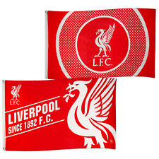 Liverpool FC Football Soccer Official Gift 5x3ft Body Flag Red White