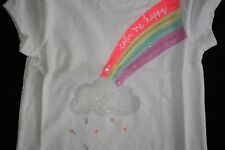 NEW Gymboree Hello Happy Rainbow Cloud Top Tee Size 4 6 8 10 12  NWT Color Me