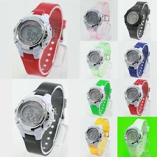 Unisex Children Watches Alarm Date Digital Watch LED Light Sport Wristwatches