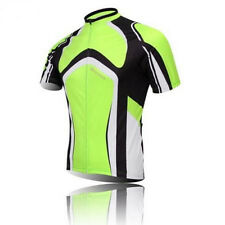 Men 's Sport Cycling Jersey Top Shirt Bicycle Wear Clothing Short Sleeves S-4XL
