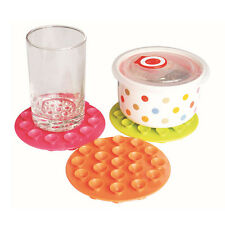 Baby Infant Feeding Bowl Cup Bottle Antislip Soft Rubber Table Place Mat Sucker