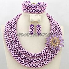 Luxury Jewelry Sets Wedding Necklace Sets,New Big Woman Statement Necklace Sets