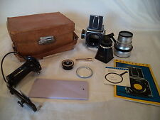 Hasselblad 500C Camera with Synchro Compur Lens, Hasselblad Filter + extras