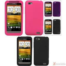 For AT&T HTC One V Soft Various TPU/Silicone Gel Skin Protector Case Cover