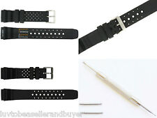 PU RUBBER PROFESSIONAL DIVER'S STRAP BAND ND LIMITS 18mm 20mm FOR CITIZEN