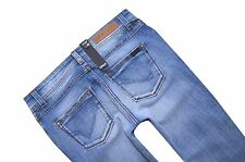 NEU ONLY Damen Denim Hüft Jeans Hose STRAIGHT LOW AUTO RO 502 W 25 L 30 hellblau