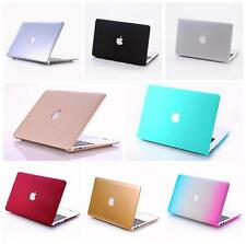 """Rubberized Hard Case Cover For Macbook PRO Air 11""""&13""""&15'' Matte Laptop Shell"""