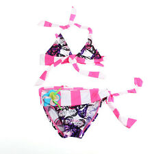 2015 NEW 2 pcs Girls Swimwear Kids Bikini Swimsuit Bathing Tankini Swim Clothes