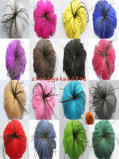 Free shipping 1 PCS pretty feather flower for headdress 17 color choices