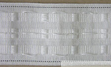 3 INCH ( 75mm ) CURTAIN HEADING HEADER TAPE PENCIL PLEAT ( CHOICE OF LENGTHS )