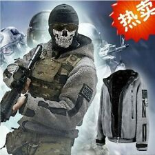 CALL OF DUTY MODERN WARFARE2 Task Force 141Ghost Zip up Jacket Hoody Costume ★01