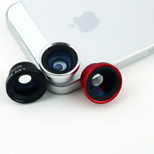 New Camera Lens Wide Angle Macro Lens Kit for iPhone Android iPod iPad Selfie A