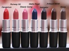MAC THE 2015 MATTE LIP COLLECTION 4 NEW COLORS SOLD OUT NIB